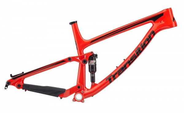 Transition Bikes Rahmen Scout Carbon Large, Orange