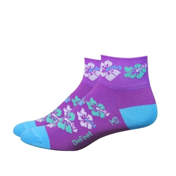 DeFeet Socken Aireator Frauen Hibiscus Lila S (8 cm)