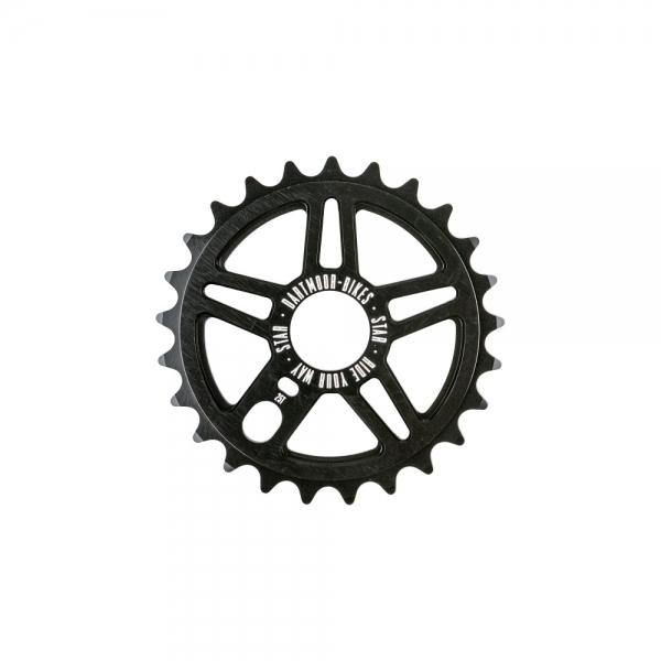 Dartmoor BMX / Dirt Bike Singlespeed Kettenblatt Star   23T   Schwarz