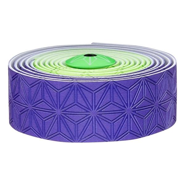 Supacaz Lenkerband Super Sticky Kush, Neon Grün - Neon Lila Limited