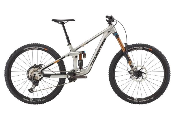 Transition Bikes Trail Bike Spire Alu XT Small, Raw