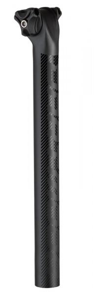 Dartmoor Sattelstütze Beam Carbon 31,6 mm, Schwarz