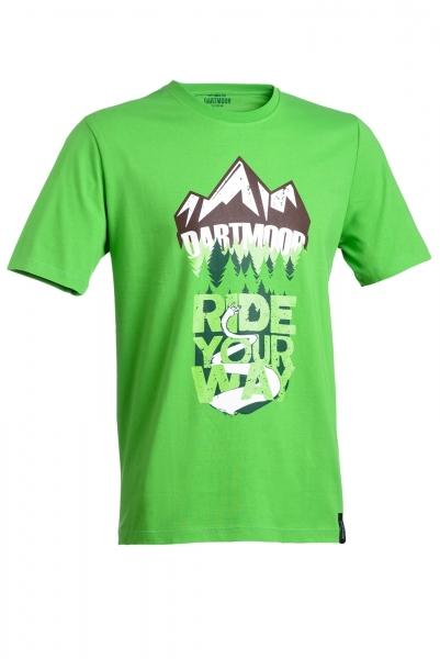 Dartmoor Rock Your Way T-Shirt, Grün, S