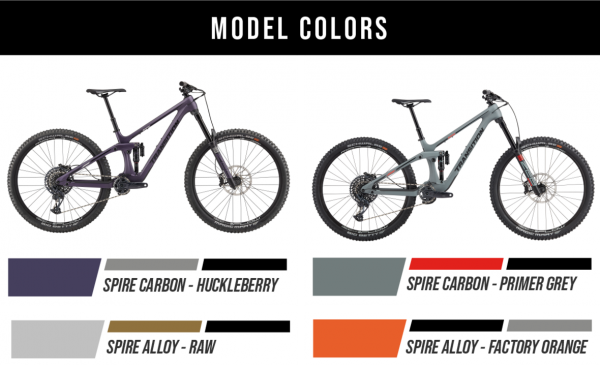 Transition Bikes Trail Bike Spire Alu NX