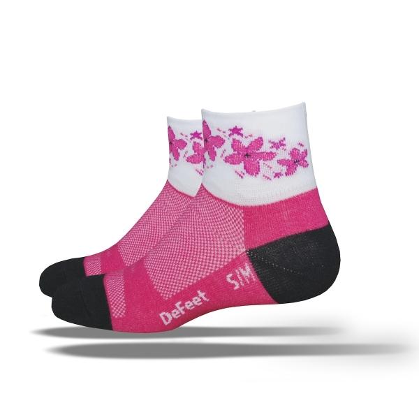 DeFeet Socken Aireator Frauen Pink Passion, M / L