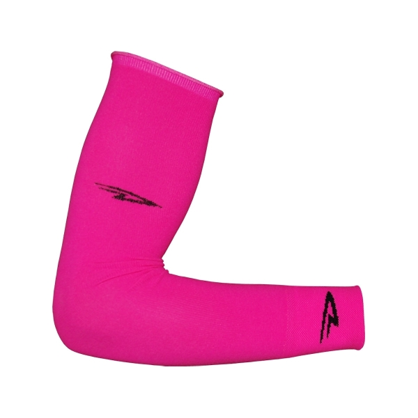 DeFeet Armlinge Original D-Logo Neon Pink, L / XL