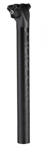 Dartmoor Sattelstütze Beam Carbon 30,9 mm, Schwarz