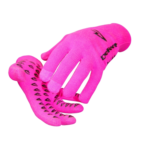 DeFeet Handschuhe Duraglove D-Logo Neon Pink, M