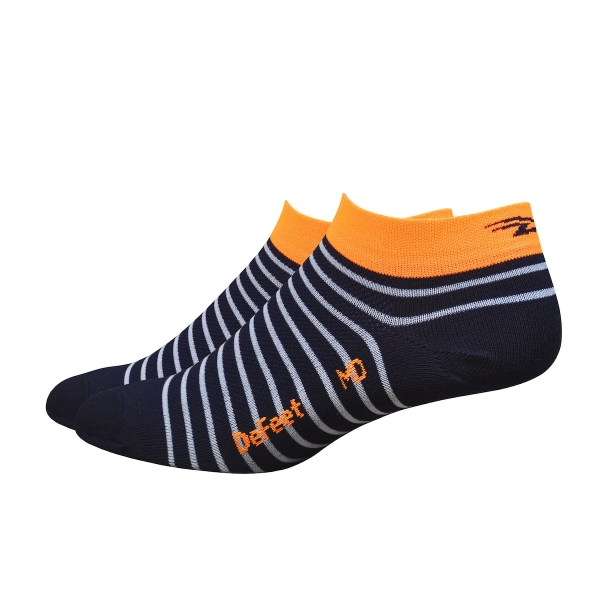 DeFeet Sportsocken Aireator Frauen Sailor Blau / Orange S (3 cm)