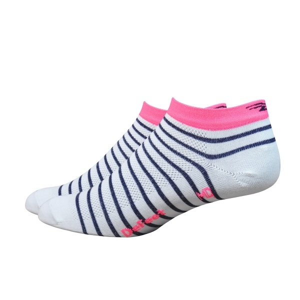 DeFeet Sportsocken Aireator Frauen Sailor Weiß / Pink L (3 cm)