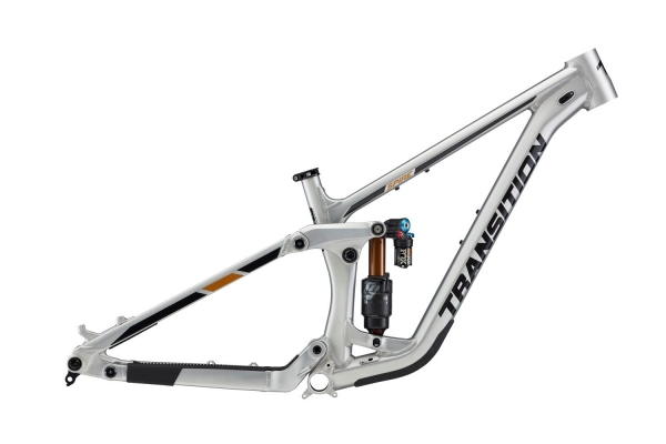 Transition Bikes Trail Bike Rahmen Spire Alu Small, Raw