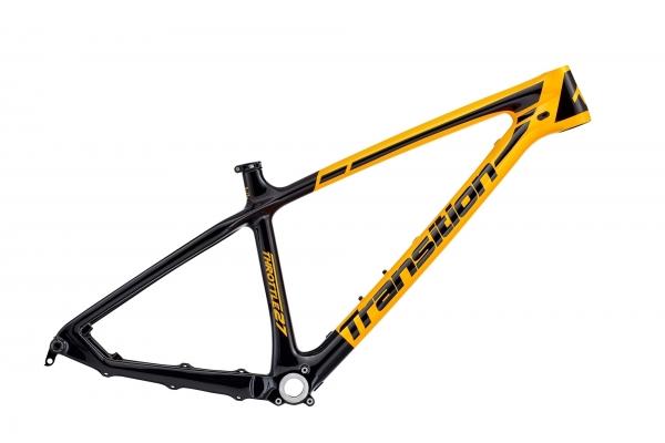 Transition Bikes Rahmen Throttle 27,5, L, Orange