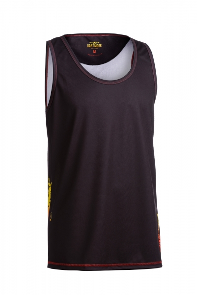 Dartmoor Strong Roots Tanktop, Schwarz / Miami Vice, S