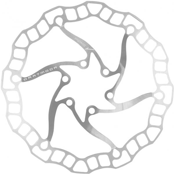 Dartmoor Fahrrad Bremsscheibe Nano | 140 mm | Silber
