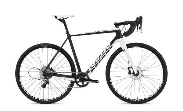 Accent Cyclocross Bike CX One Carbon, Weiß / Schwarz, S Testbike