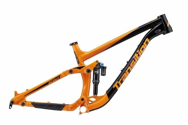 Transition Bikes Rahmen Scout XLarge, Orange