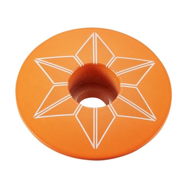 Supacaz Ahead Kappen Star Capz, Neon Orange, pulverbeschichtet