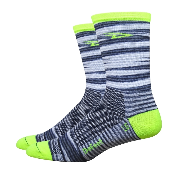 DeFeet Socken Aireator Single-Bund D-Logo Gelb (13 cm)