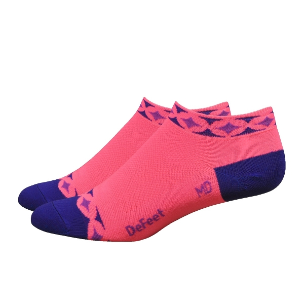 DeFeet Sportsocken Aireator Frauen Starlight Pink, L (3 cm)