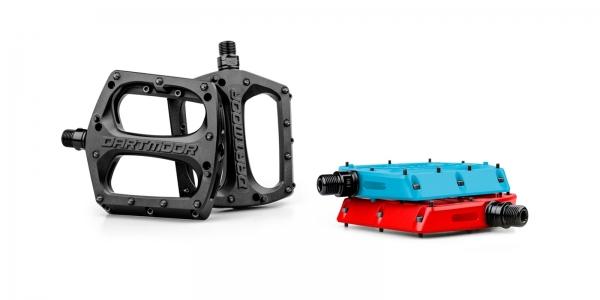 Dartmoor BMX / MTB / Dirt Bike Fahrradpedale Plastik Drift | Schwarz