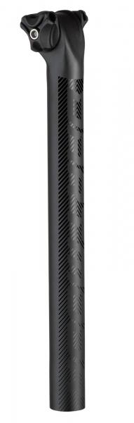 Dartmoor Sattelstütze Alu Beam | 31,6 mm | 350 mm |Schwarz