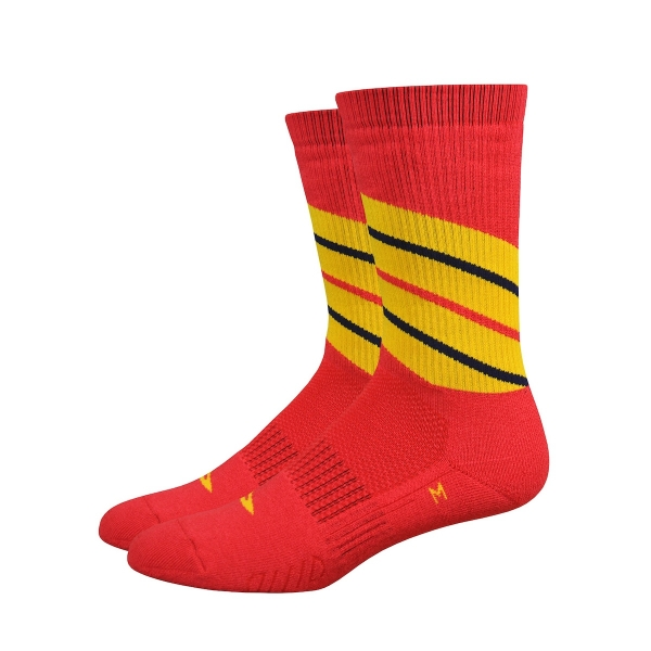 DeFeet Thermosocken Thermeator Twister Rot, S (15 cm)